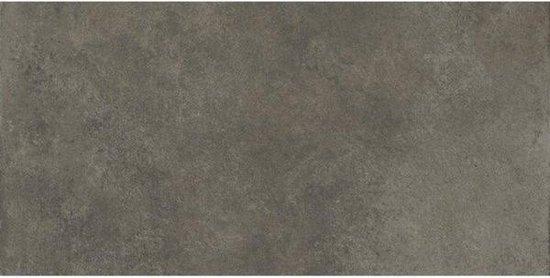 Herberia Ceramiche Vloer- en wandtegel Timeless Anthracite 30x60 cm Gerectificeerd Industriële look Mat Antraciet