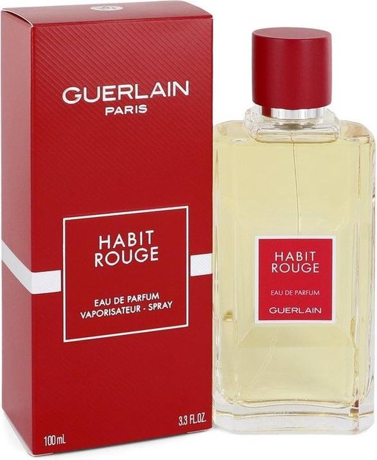 Bol Com Guerlain Habit Rouge 100ml Eau De Parfum