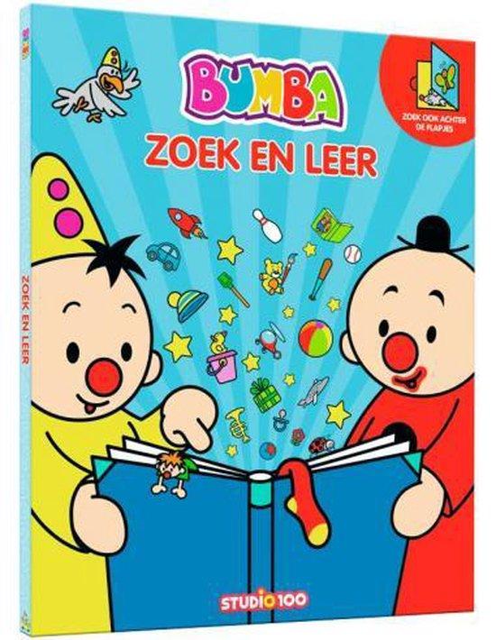 Boek cover Bumba Groot Zoekboek Met Flapjes - Zoek En Leer van Gert Verhulst (Hardcover)