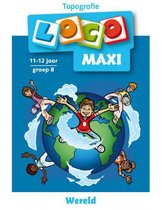 Maxi Loco - Topografie Wereld 9-12 jaar