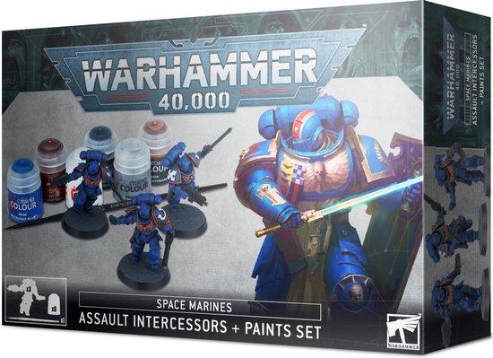 Afbeelding van het spel Space Marines Assault Intercessors Paint Set