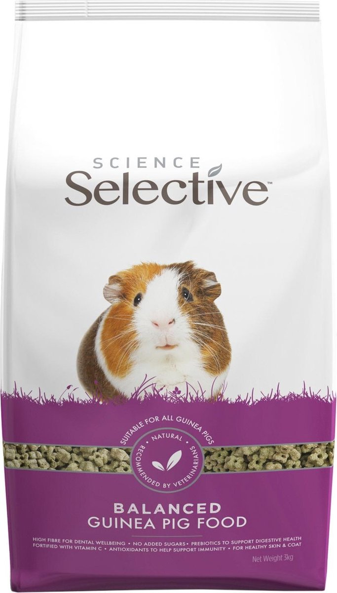 Supreme Science Selective Guinea Pig - Caviavoer - 3 kg