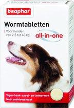 Beaphar All In One Ontwormingsmiddel - Hond 2.5-40 kg - 4 Tabletten