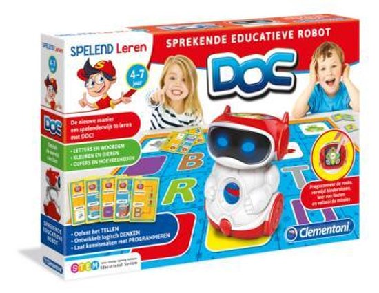 Clementoni Doc Pratende Robot - educatief spel