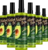 Nature Box Avocado Anti-Klit Spray 6x 200 ml - Voordeelverpakking
