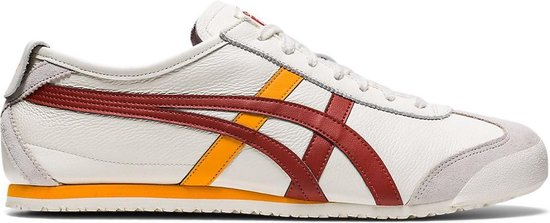 Onitsuka Tiger Mexico 66 Unisex Sneakers - Cream/Spice Latte - Maat 39.5