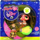 Littlest Pet Shop Blythe Loves Postcards Series 1 Desert Fun Snake Figure # 1949