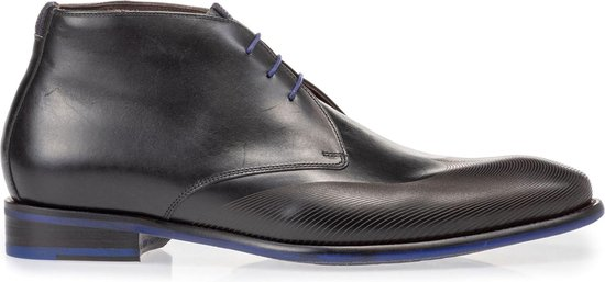 Floris van Bommel Mannen Boots -  20376 - Zwart - Maat 42