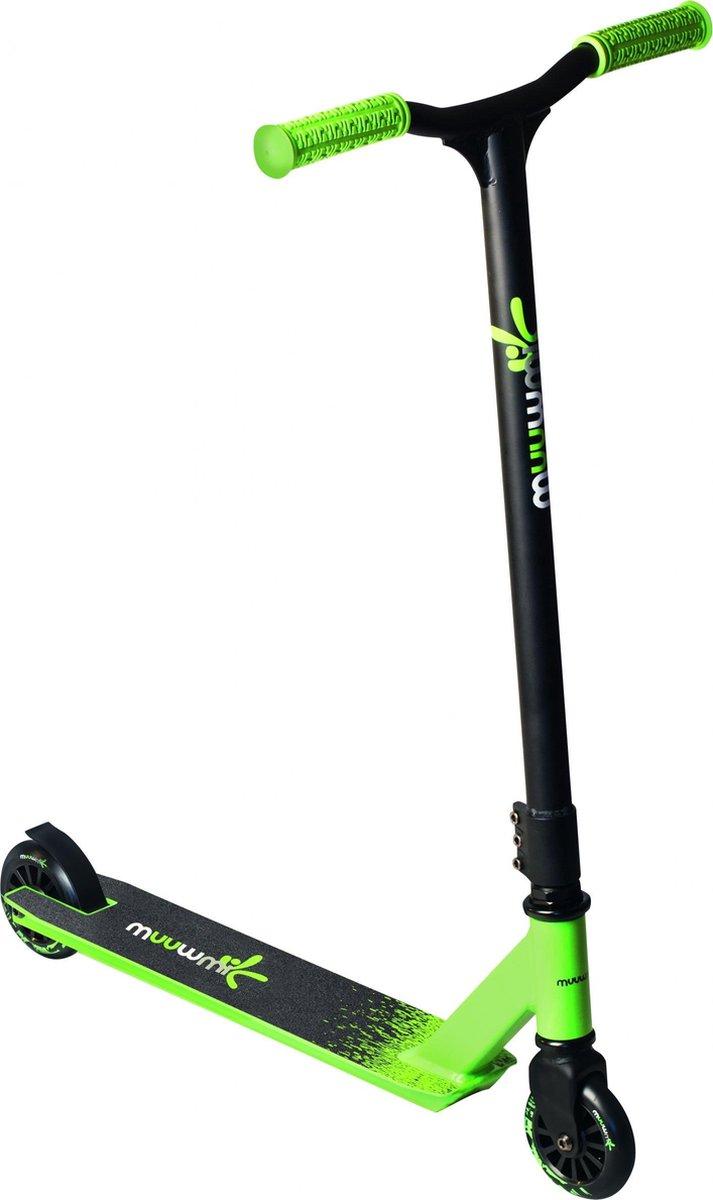 Muuwmi Stuntstep - Step - Unisex - Zwart;Groen