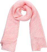 Sjaal Plissé Roze