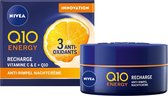 NIVEA Q10plusC Energy Vitamne C & E + Q10  Nachtcrème - 50ml