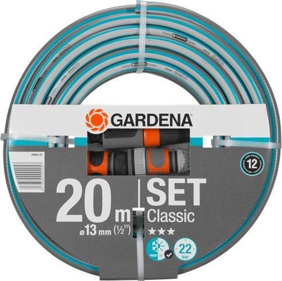 GARDENA Classic Met Aansluitarmaturen Tuinslang - 20 Meter - 13 mm
