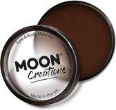 Moon Creations Schmink Pro Face Paint Cake Pots 36 Gram Donkerbruin