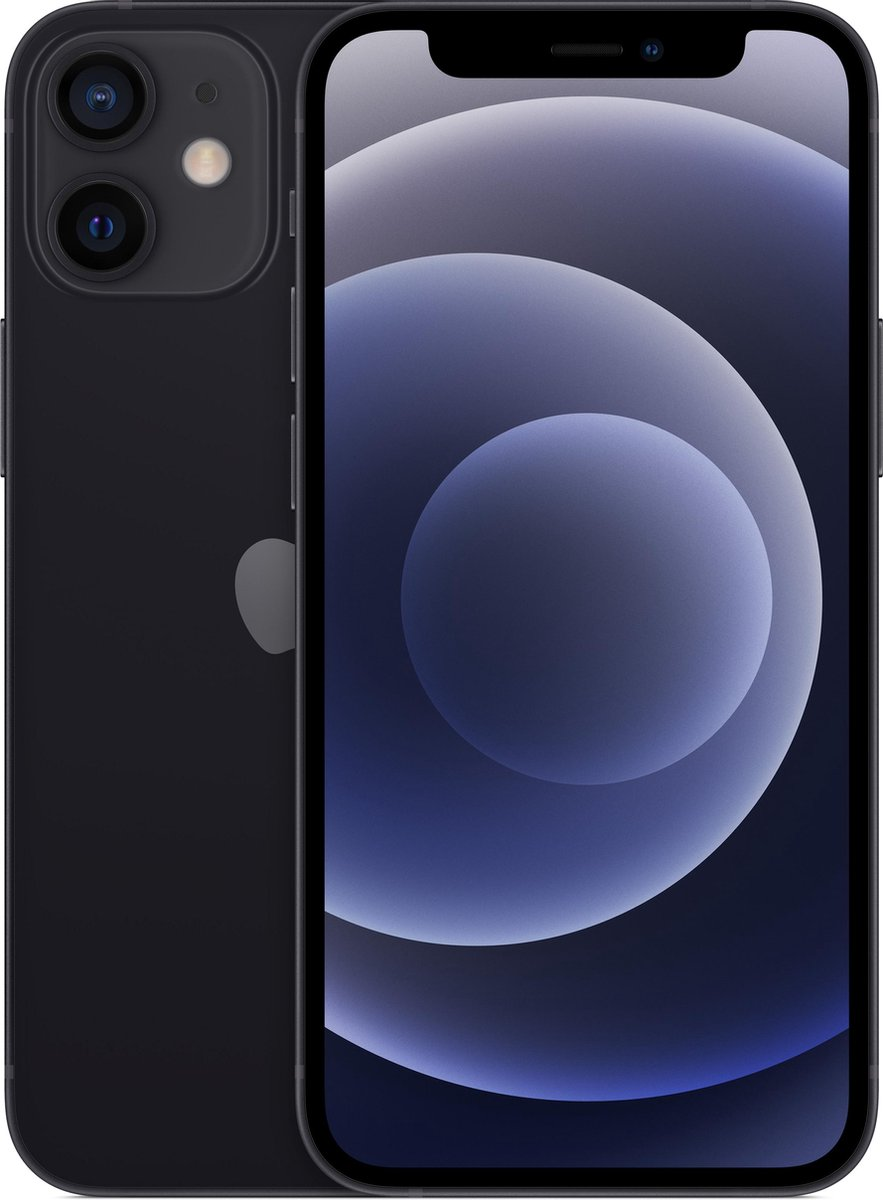 Apple iPhone 12 Mini – 64GB – Zwart