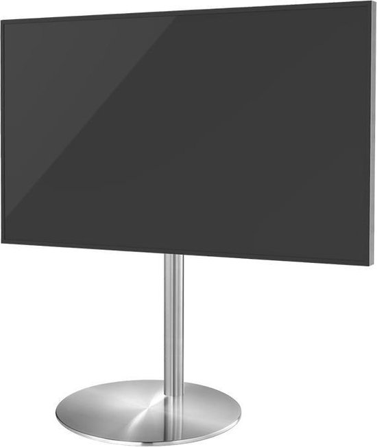 Cavus Sphere L 100cm Design Tv Vloerstandaard - RVS Tv meubel geschikt voor 32-65 inch tot 30 kg - VESA 400x300 400x200 300x300 300x200 200x200
