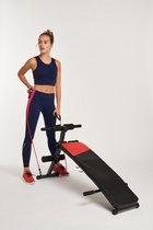 Active Panther Fitnessbank - Sit up - Fitnessbank multifunctioneel Buiktrainer sit up bench buikspierbank fitness bank