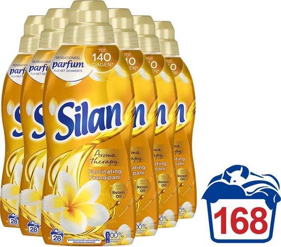 Silan Fascinating Frangipani Wasverzachter - Voordeelverpakking - 6 x 28 wasbeurten