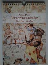 Anton Pieck Verjaardagskalender - koets - kalender