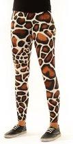 Legging van Festivalleggings - Giraffe - Maat M - Comfortabel - Ademend - Zachte Stof