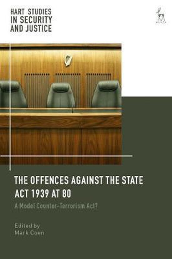 Boek cover The Offences Against the State Act 1939 at 80 van Coen Mark (Hardcover)