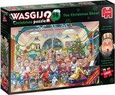 Wasgij Kerstmis 16 De Kerstshow - Legpuzzel 2x 1000 Stukjes