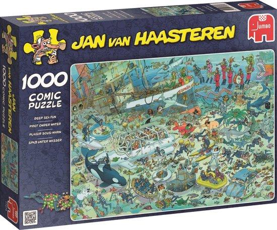 Jan van Haasteren Onderwater Wereld – Puzzel – 1000 stukjes