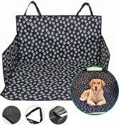 Hondendeken auto achterbank - Kofferbak beschermhoes hond - Hondenkussen - Waterdicht & Antislip - Zwart