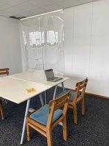 Transparante roll up banner | Corona scherm | Afscheidingsscherm |Kuchscherm | Spatscherm 200 x 120 cm