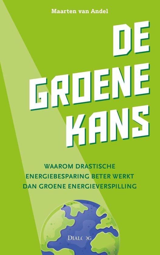 Boek cover De groene kans van Maarten van Andel (Onbekend)