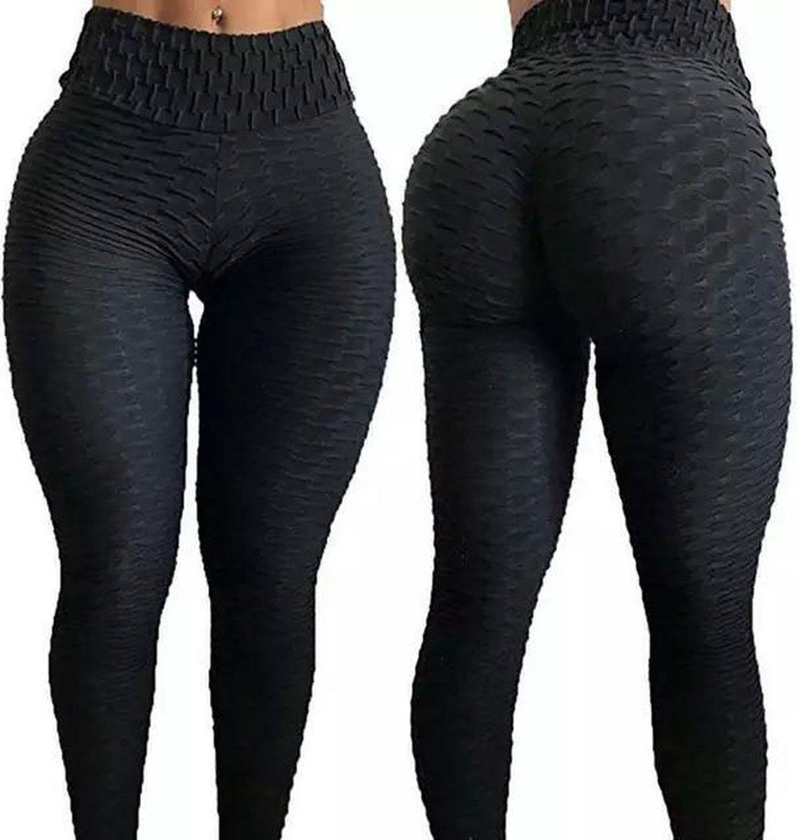 Sportlegging-Yoga -Scrunch Butt-High Waist- Absorberend- Anti Cellulite Legging-Gym Sports -Legging