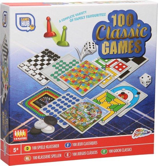 Afbeelding van het spel 100 Spellendoos Klassiek