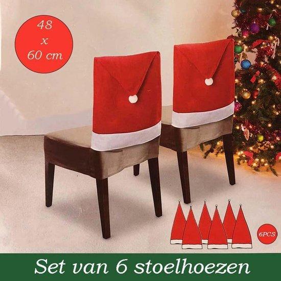 Stoelhoezen Kerst (6 stuks)