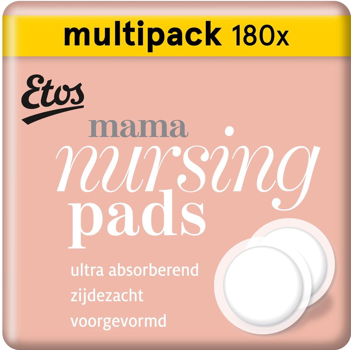Etos zoogcompressen voor mama - 180 stuks (6 x 30 stuks)