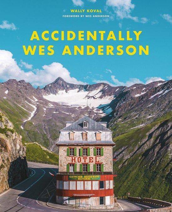 Boek cover Accidentally Wes Anderson van Wally Koval (Onbekend)