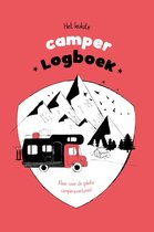 Camperboek - logboek - reisdagboek - ervaringen en budget bijhouden - A5 hardcover - geschenk - mobilhome - tips & tricks - rood