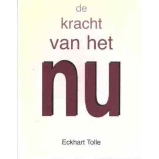 Boek cover De kracht van het Nu van Eckhart Tolle (Paperback)