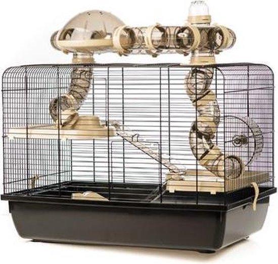 Hamsterkooi Galaxy - Beige - 58 x 38 x 43 cm