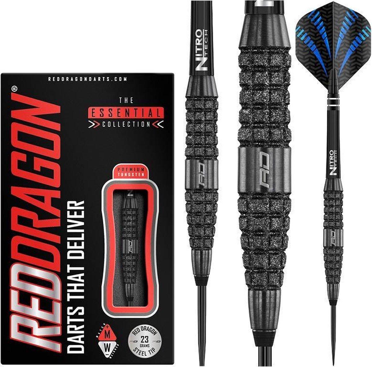 RED DRAGON - Touchstone: Steeltip Tungsten Dartpijlen Professioneel - 23 gram