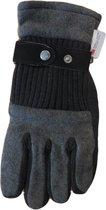 Handschoenen heren deels imitatie leer Thinsulate