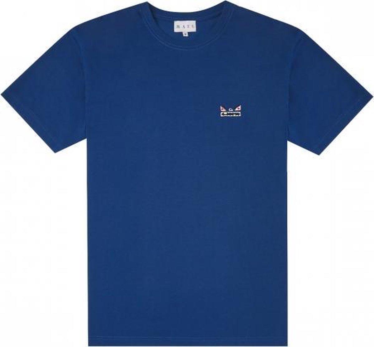 Mael - Logo Tee Navy - S