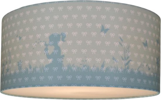Plafondlamp Babykamer Dandelion Groen | Meisjes Lamp Schaduw Silhouette effect | Plafonnière Kinderkamer Slaapkamer | Land of Kids Kinderlamp