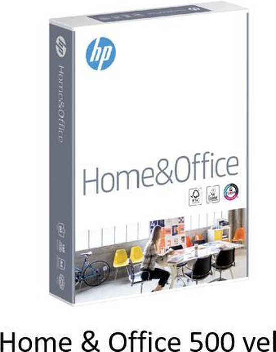 HP Home and Office Paper, 80 gr/m², A4/210 x 297 mm/5x500 vel - HP