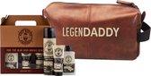 Cadeau voor hem - Toilettas Legendaddy - Every Day Set - Papa - Vader