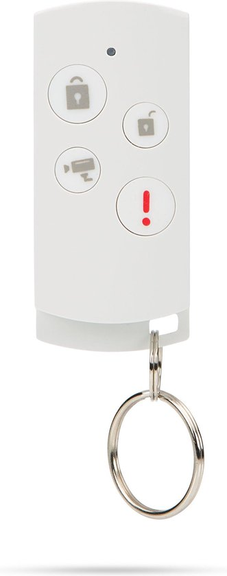 SecuFirst ALM314S SD32 - Draadloze IP camera met alarm sensoren binnen - Pan/Tilt - 10M nachtzicht - FHD 1080P