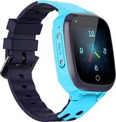 GPS Horloge Kind 4G Upgrade - GPS Tracker Kind - Smartwatch kinderen - Blauw - GPS Horloge kinderen