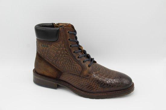 Australian- denzel half hoge schoen bewerkt leder- maat 42