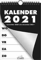 Hobbit Spiraalkalender A5 D1 2021 - 21x15cm