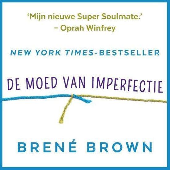 Boek cover De moed van imperfectie van Brené Brown (Onbekend)