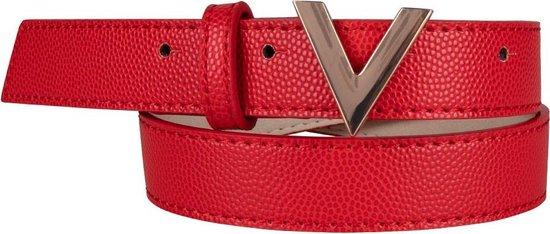 Valentino Vrouwen Divina Kledingriem Size XS – 80 CM – Rood