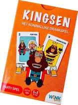 Kaartset Partyspel Kingsen, Het Koninklijk Kaartspel Drankspel